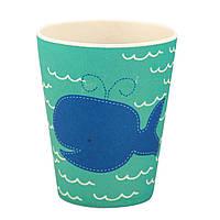 Стакан из бамбукового волокна Whale Tiny Footprint