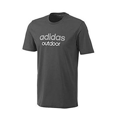 Футболка спортивная, мужская adidas Black ED LOGO LINEA T F91295 адидас