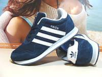 Женские кроссовки Adidas Haven (реплика) синие 39 р.