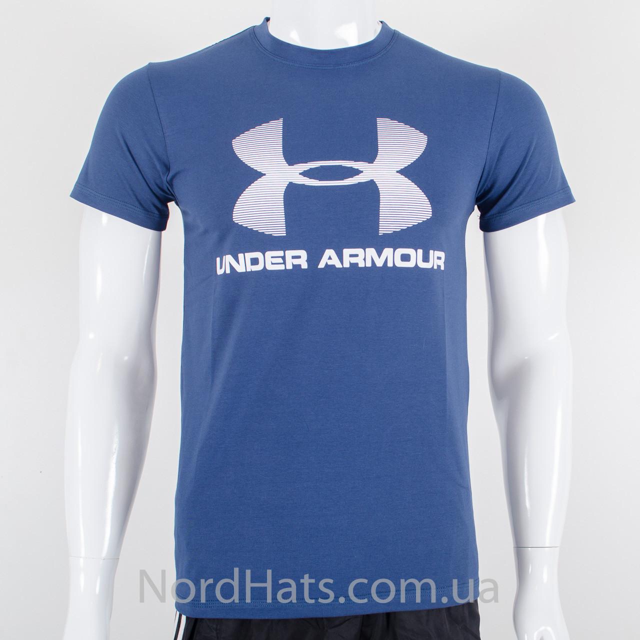 Футболка с логотипом, Under Armour (Синий)