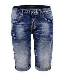 Мужские джинсовые шорты Glo-Story SP18 MMK 6264 синие низкие