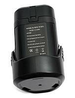 Аккумулятор PowerPlant для шуруповертов и электроинструментов BOSCH GD-BOS-10.8 10.8V 2Ah Li-Ion, фото 1
