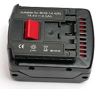 Аккумулятор PowerPlant для шуруповертов и электроинструментов BOSCH GD-BOS-14.4(B) 14.4V 4Ah Li-Ion, фото 1