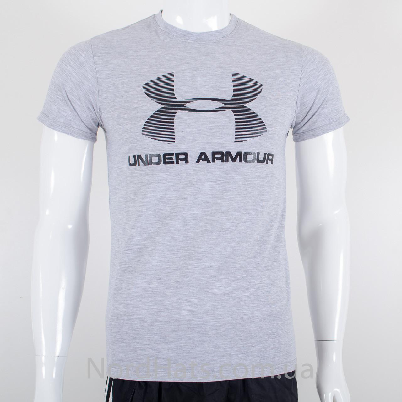 Футболка с логотипом, Under Armour (Меланж)