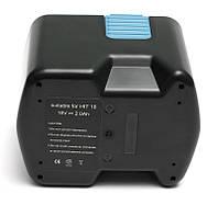 Аккумулятор PowerPlant для шуруповертов и электроинструментов HITACHI GD-HIT-18(A) 18V 2Ah NICD, фото 1