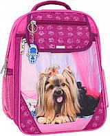 Украина Рюкзак школьный Bagland Отличник 20 л. малина (собака 18) (0058070), фото 1