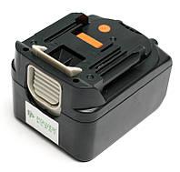 Аккумулятор PowerPlant для шуруповертов и электроинструментов MAKITA GD-MAK-14.4(B) 14.4V 4Ah Li-Ion, фото 1