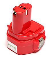 Аккумулятор PowerPlant для шуруповертов и электроинструментов MAKITA GD-MAK-12(A) 12V 2Ah NICD(1235), фото 1