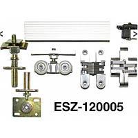 Система на раздвижные двери(механизм) EKF 120005(книжка)