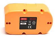 Аккумулятор PowerPlant для шуруповертов и электроинструментов RYOBI GD-RYO-18(A) 18V 3.3Ah NIMH, фото 1