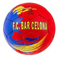 Мяч для профессионального футбола Grippy G-14 FC Barc-3, желто/синий