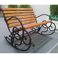 Садовая кресло - качалка 1м.