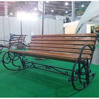 Садовая кресло - качалка 1.5м.
