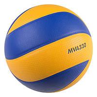 Мяч для пляжного волейбола Mikasa MVA330 PU-1
