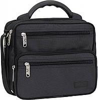Украина Мужская сумка Bagland Mr.Braun 8 л. Чёрный (00240169), фото 1