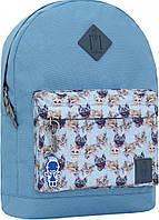 Украина Рюкзак Bagland Молодежный W/R 17 л. 190 блакитний 148 (00533662), фото 1