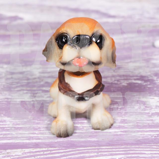 Статуэтка щенок лабрадор с качающейся головой