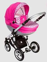 Коляска Dada Paradiso Group Galileo 2 в 1 pink. Бесплатная доставка!