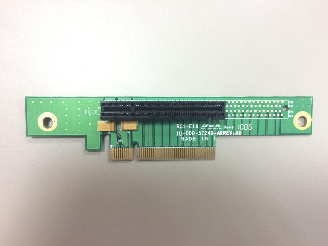RC1-E8 1U Райзер карта 8х PCI Express слот (используется 16х PCI Express).