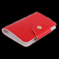 Кардхолдер красного цвета
