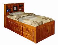 """Кровать односпальная """"Сусана"""" с ящиками и высоким изголовьем"""