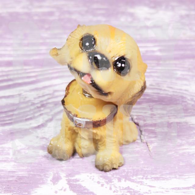 Статуэтка щенок спаниеля с качающейся головой