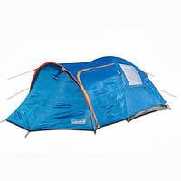 Двухслойная кемпинговая палатка 4-х местная Coleman 1009