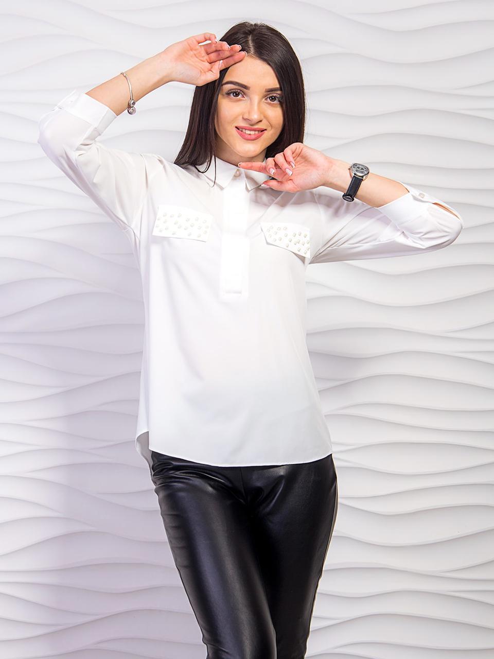 Красивая нежная блузка