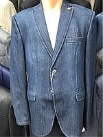 Пиджак джинсовый молодежный