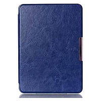 Чехол Leather Case for Amazon Kindle 6 (7gen) Blue Pattern