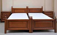 """Кровать односпальная """"Джесси"""" из натурального дерева"""