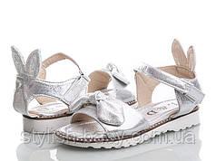 Детская летняя обувь 2018. Детские босоножки бренда Clibee - Apawwa (L&D) для девочек (рр. с 31 по 36)
