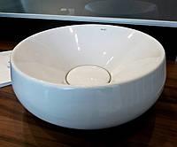 Раковина круглая 50 см на столешницу NEWARC Elipso Турция