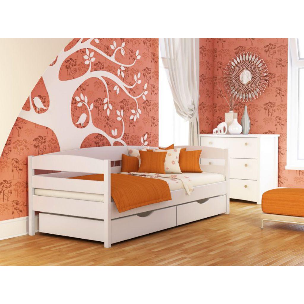 """Односпальная кровать """"Дези"""" кроватка для подростка из дерева"""