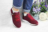 Кроссовки женские Adidas Neo код товара SD-4844. Бордовые