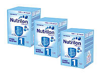 Nutrilon (Нутрилон) 1 от 0 до 6 мес. карт. уп., 3х1000 г. (9670/3) (3шт)