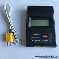 Цифровой термометр TM-902C с одним входом