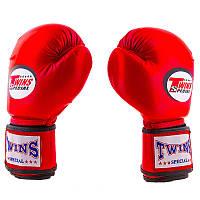 Боксерские перчатки кожзаменитель Twins (aiba mod), FLEX, 8oz,10oz,12oz 8oz