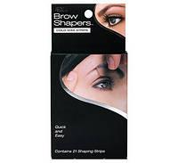 Полоски с воском для придания формы бровям Brow Shapers Cold Wax Strips