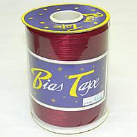 Косая бейка, 3135 (бордового цвета)