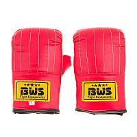 Снарядные перчатки красные BWS DX, M, L, XL XL