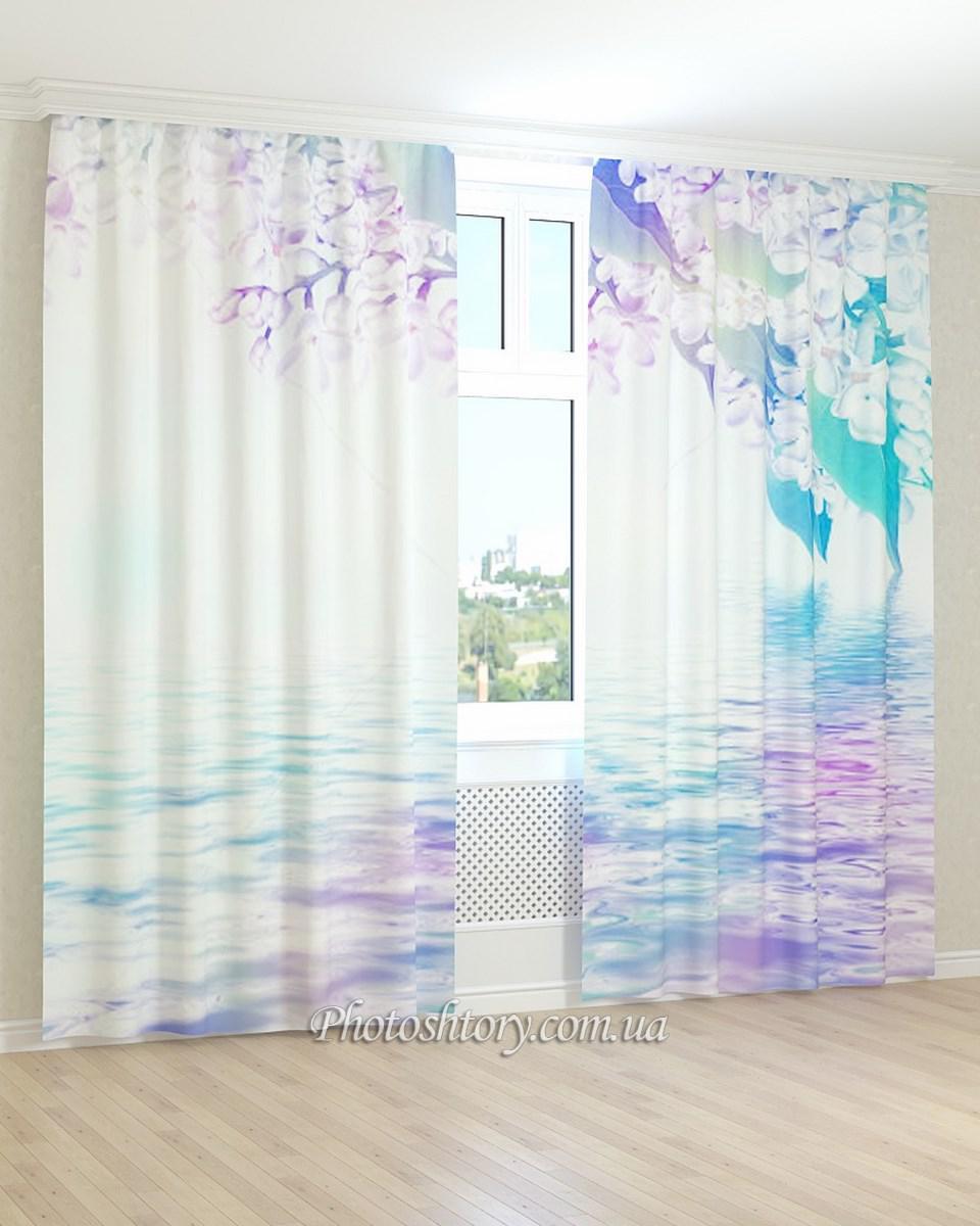 Фотошторы яркое отражение цветов