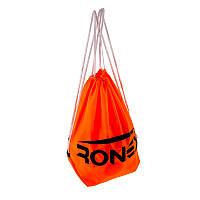 Сумка-рюкзак для мячей Ronex  оранжевый/салатный