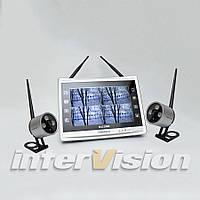 Комплект беспроводного видеонаблюдения KIT-FHD122 на две камеры