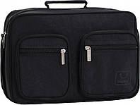 Украина Мужская сумка Bagland Mr.Black 11 л. Чёрный (0026470), фото 1