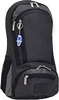 Украина Рюкзак для ноутбука Bagland Granite 23 л. черный /серебро (00120169), фото 1
