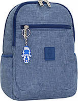 Украина Детский рюкзак Bagland Young 13 л. Синий (0051069), фото 1