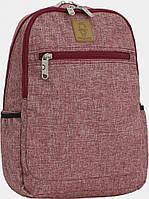 Украина Детский рюкзак Bagland Young 13 л. Бордовый (0051069), фото 1