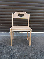Деревянный стул Растишка Сердечко