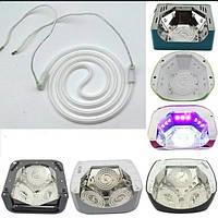 Запасная LED Лампа  спираль УФ-аппаратов. Сменная спираль 12 W для ламп (36 вт, 48 вт, 60 вт)., фото 1